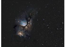 星云,明星,星光,仙王座,纹理,氢,传播,壁纸,