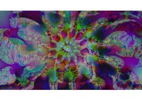 抽象,不规则碎片形,艺术的,数字的,艺术,彩色,壁纸,(1)