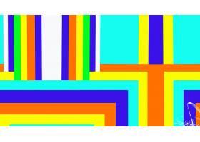 抽象,几何学,形状,数字的,艺术,富有色彩的,壁纸,(1)