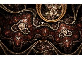 抽象,不规则碎片形,壁纸,(492)