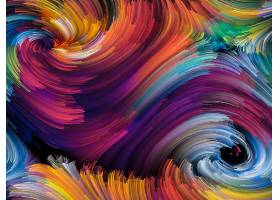 抽象,漩涡,艺术的,彩色,数字的,艺术,富有色彩的,壁纸,