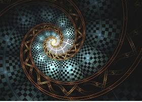 抽象,漩涡,艺术的,数字的,艺术,壁纸,(2)