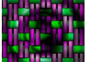 抽象,彩色,几何学,绿色的,紫罗兰,数字的,艺术,壁纸,