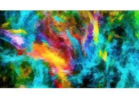 抽象,彩色,绘画,富有色彩的,壁纸,