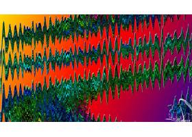抽象,涟漪,艺术的,数字的,艺术,彩色,波浪,富有色彩的,梯度,壁纸,