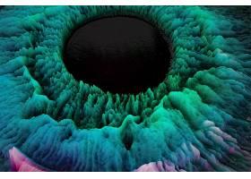 抽象,液体,3D,壁纸,