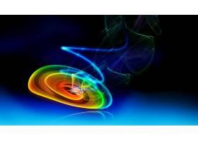 抽象,漩涡,彩色,模式,CGI,螺旋,富有色彩的,艺术的,壁纸,