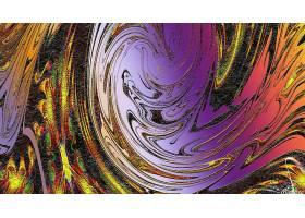 抽象,漩涡,艺术的,数字的,艺术,彩色,壁纸,(3)