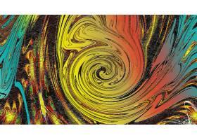 抽象,漩涡,艺术的,数字的,艺术,彩色,富有色彩的,壁纸,