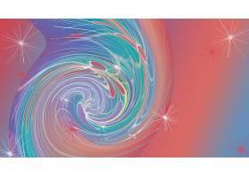 抽象,漩涡,艺术的,数字的,艺术,彩色,梯度,壁纸,