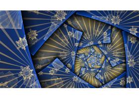 抽象,漩涡,艺术的,模式,蓝色,数字的,艺术,壁纸,(1)