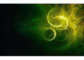 抽象,绿色的,壁纸,(38)