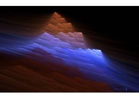 抽象,彩色,形状,模式,纹理,艺术的,CGI,山峰,沙丘,壁纸,