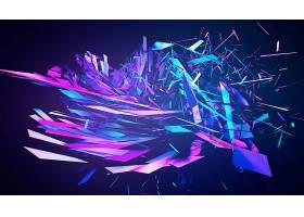 抽象,蓝色,壁纸,(315)