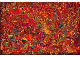 抽象,彩色,明亮的,橙色的,红色,黄色,壁纸,