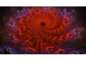 抽象,红色,壁纸,(12)