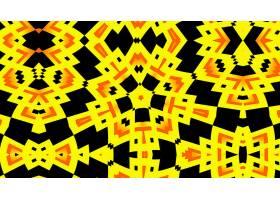 抽象,千变万化,艺术的,数字的,艺术,模式,黄色,黑色,壁纸,