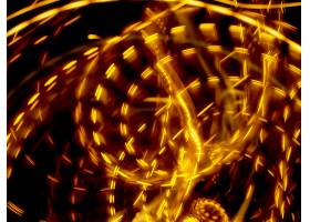 抽象,照相机,投掷,运动的,艺术的,摄影,黄色,灯光,漩涡,灯光,小径