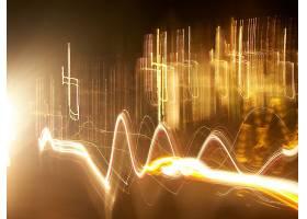 抽象,照相机,投掷,运动的,艺术的,摄影,黄色,线,灯光,灯光,小径,