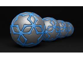 抽象,球,3D,数字的,艺术,CGI,壁纸,(3)