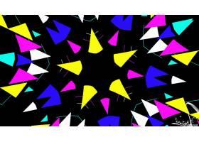 抽象,千变万化,艺术的,数字的,艺术,彩色,模式,壁纸,(70)