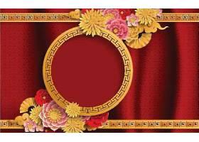 中式古典花纹元素矢量图
