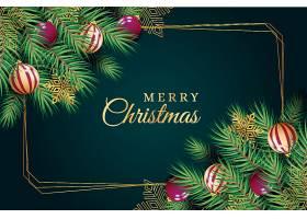 圣诞节展板背景