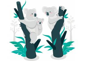 考拉动物插画设计