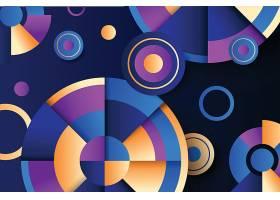 抽象背景几何图形球体