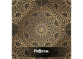 金色高端抽象花纹背景素材