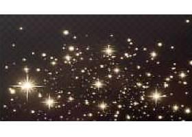 金色星星闪烁