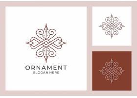 简洁线条商务通用主题矢量LOGO图标徽章设计