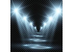 舞台光效矢量素材
