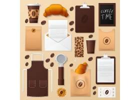 面包店企业标识模板集