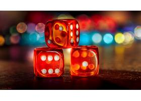比赛,骰子,Bokeh,深度,关于,领域,壁纸,