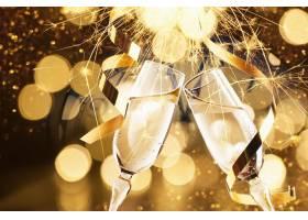 香槟庆祝图片素材