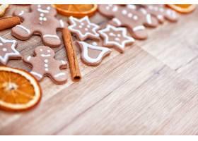 圣诞节饼干图片素材