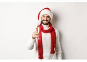 圣诞节派对外国男子