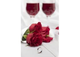 红色玫瑰花