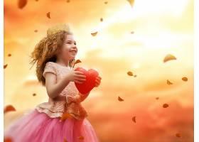 梦境里的可爱小女孩公主