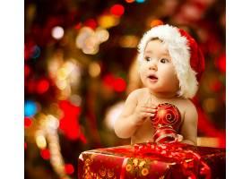 圣诞节新生儿