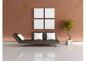 北欧风简洁沙发客厅