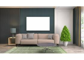 简洁时尚客厅沙发椅子