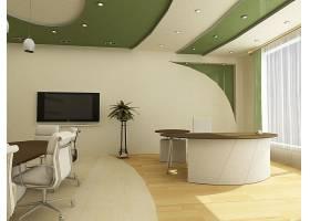 会议室与办公桌