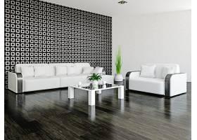 黑白风格客厅