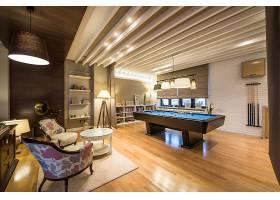 家庭娱乐室桌球室