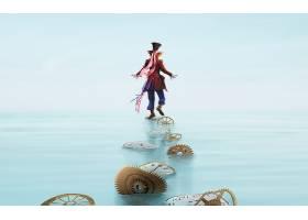 电影,爱丽丝,在,仙境,(2010年),爱丽丝,在,仙境,疯的,帽商,壁纸,
