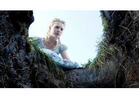 电影,爱丽丝,在,仙境,(2010年),米娅,Wasikowska,爱丽丝,壁纸,