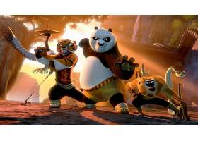 电影,Kung,福,熊猫,2,Kung,福,熊猫,邮局,壁纸,(6)