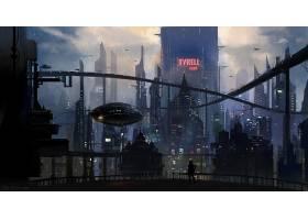 电影,叶片,跑步者,2049,叶片,跑步者,城市,建筑物,摩天大楼,未来